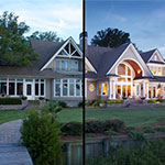 Real estate image retouching