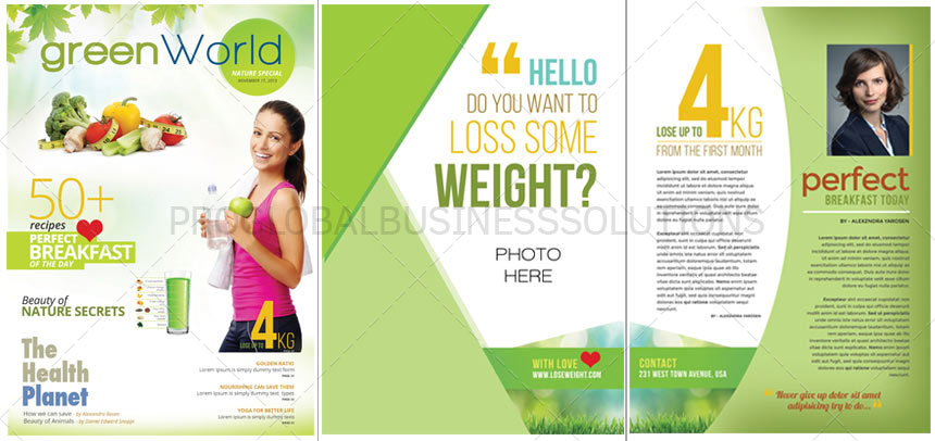 Magazine design services india