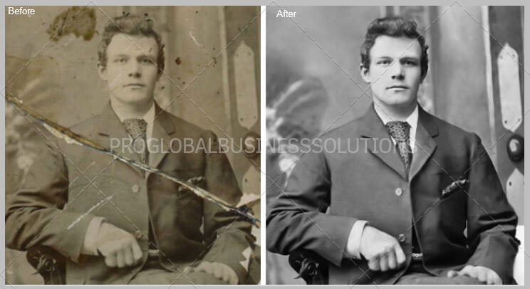 Professional Photo Restoration & Enhancement Services Online| PGBS
