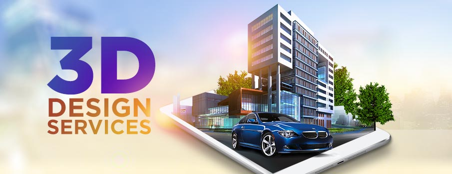 3d design services India
