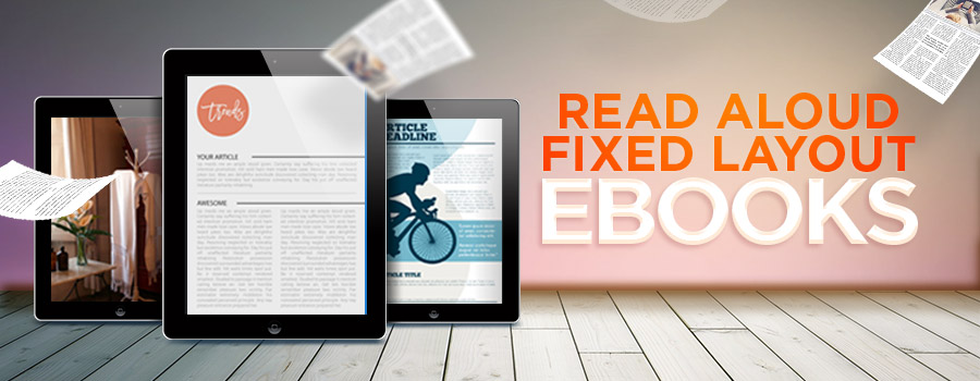 fixed layout ebook