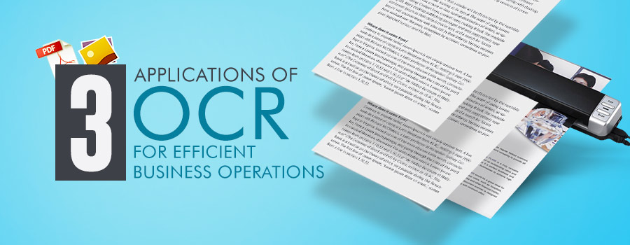 OCR applications