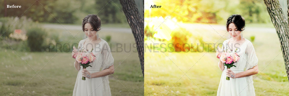 Wedding Photo Post-processing Services