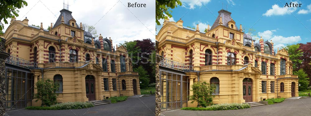 Real estate photo editing outsourcing