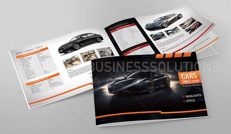 automobile catalogue design services