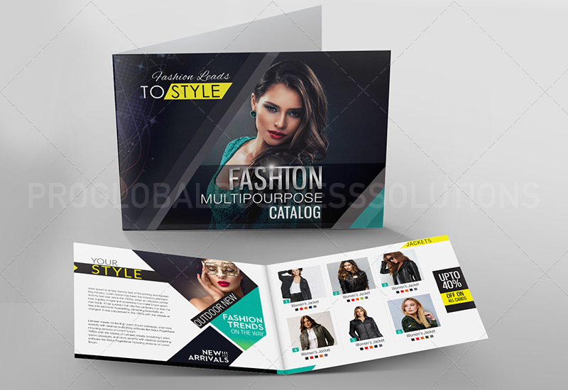 fashion catalogue design services