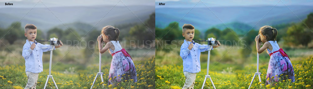 stock photography editing