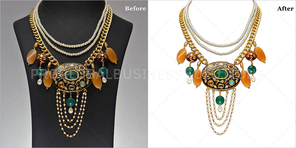 jewelry photography editing services
