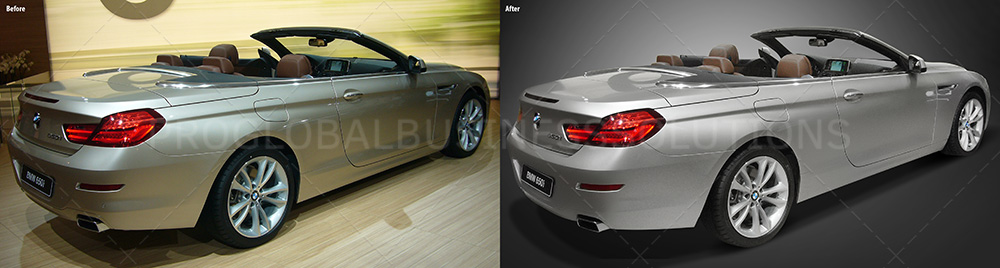 Automotive image editing services