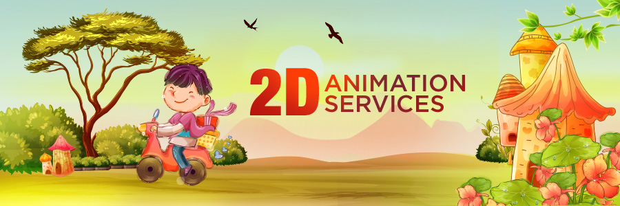 Outsource 2D Animation Services