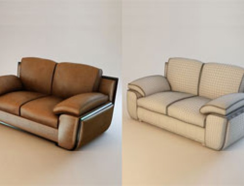 3D Furniture Modeling And Rendering