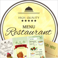 menu design services