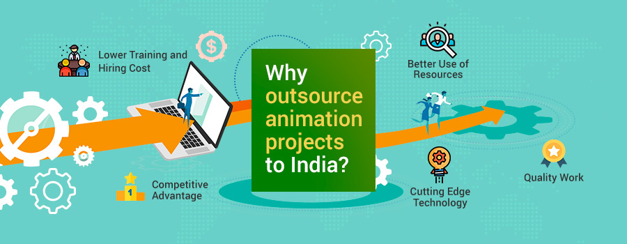 animation outsourcing projects India
