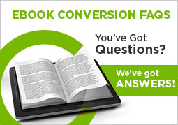 ebook conversion faqs