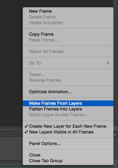 Make Frames From Layers Option