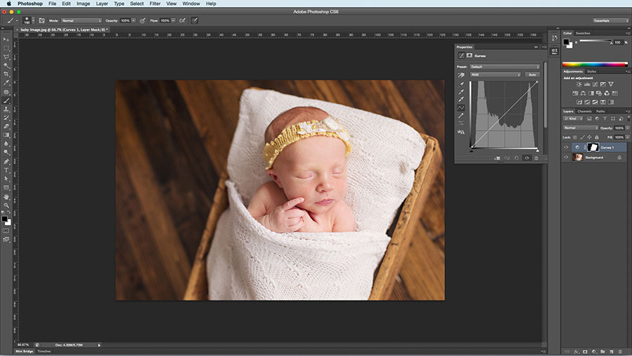 newborn editing