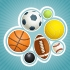 Sports Equipment Illustration