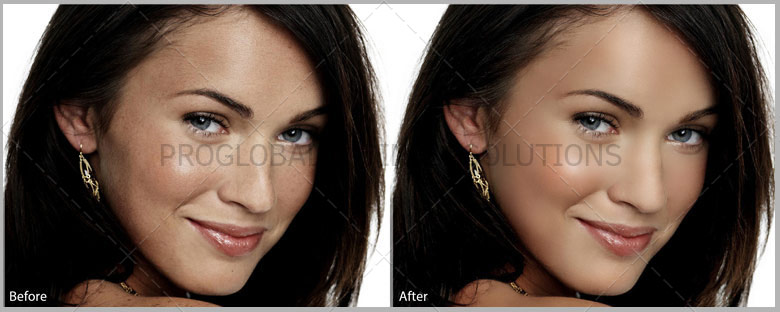 Portrait Face Retouching