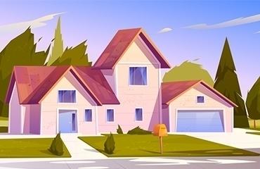 architectural design illustration