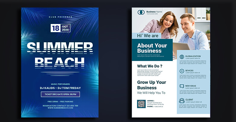 Business and Event Flyers