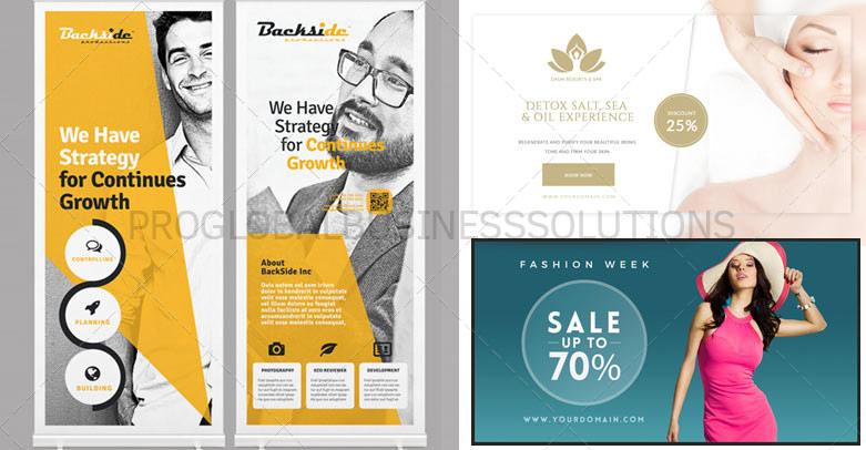Banner designing services