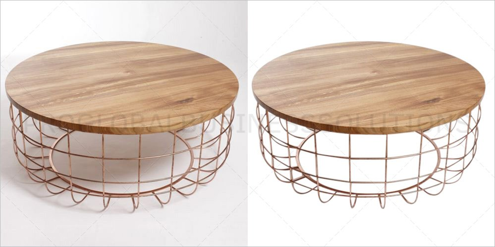 Edited Clipping Path Image with White Background