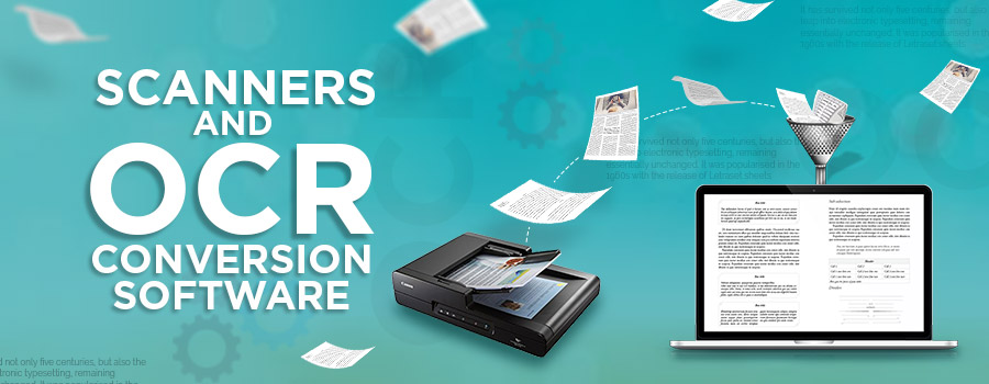 Scanning and OCR conversion services in India