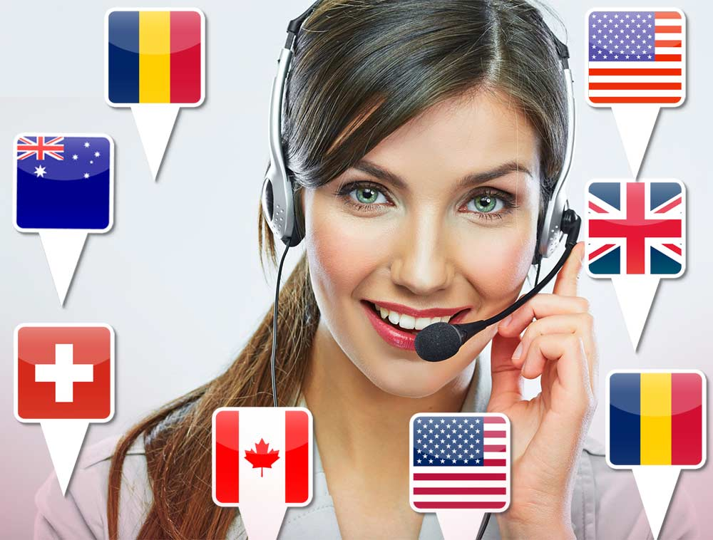 Multilingual-Call-Center services
