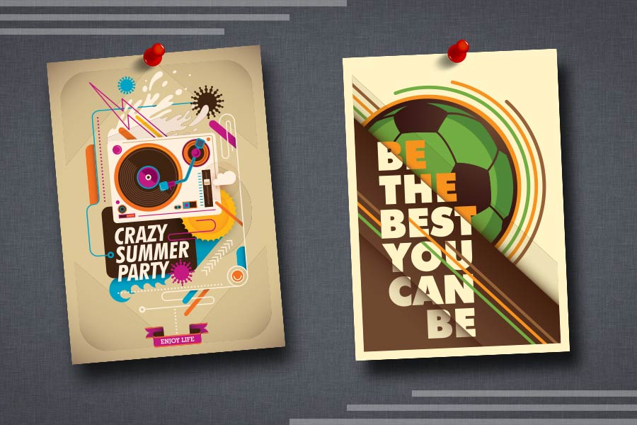 Poster designing services