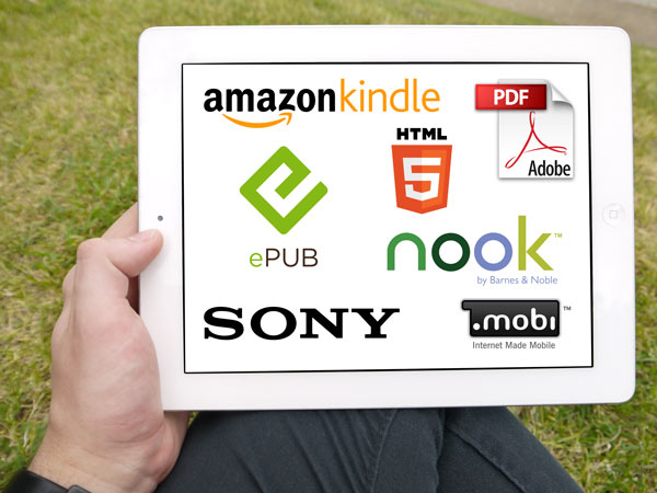 ebook formats for ipad