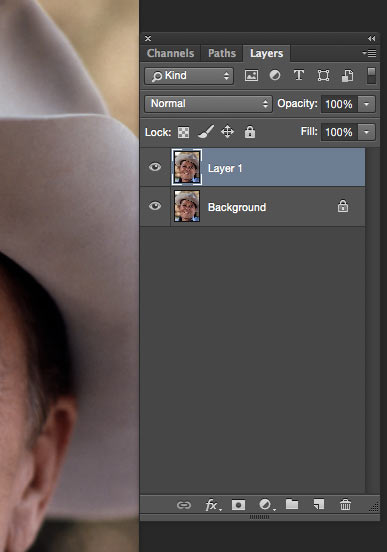Layer Duplicate in Photoshop
