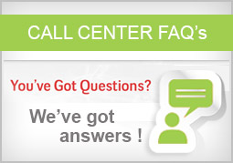 Call Centre - Frequently Asked Questions