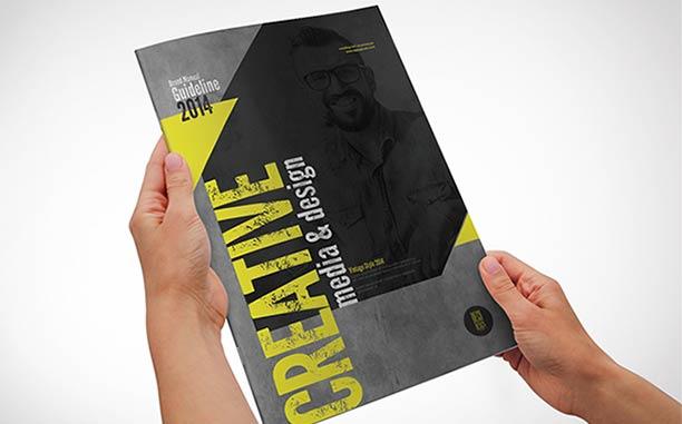 custom brochure design ideas