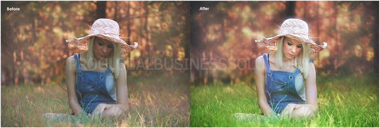 Stock photography editing