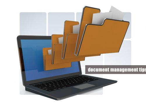 Best document management tips you must be aware of while implementing DMS
