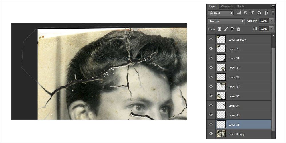 old photo restoration photoshop tutorial