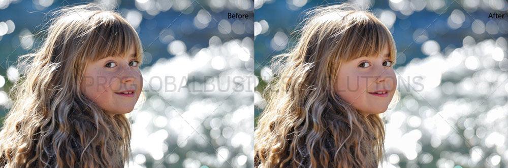 professional portrait retouching services