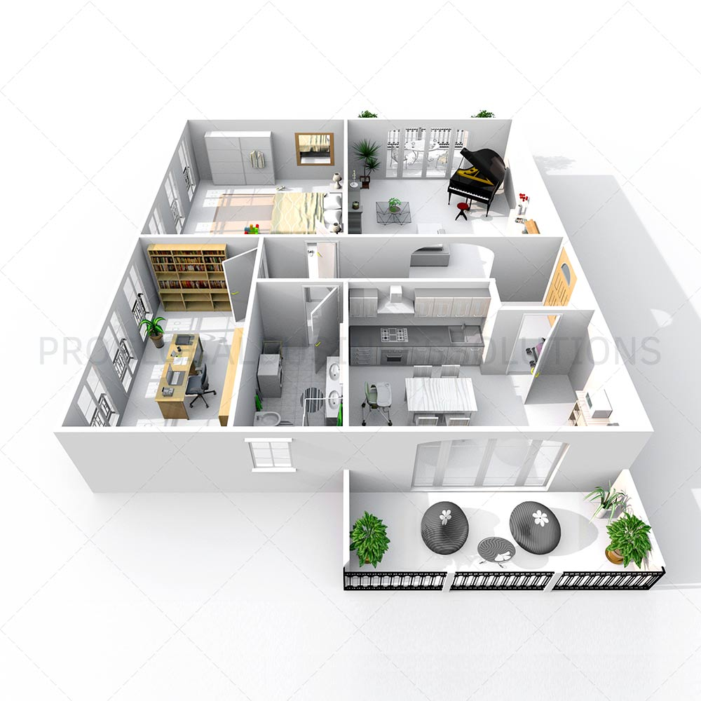 Real estate Floor plan service