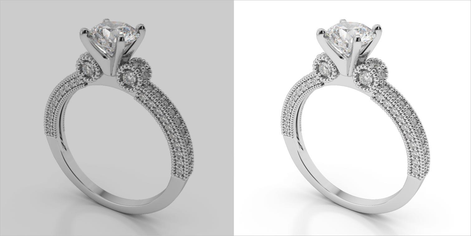 jewellery photo retouching