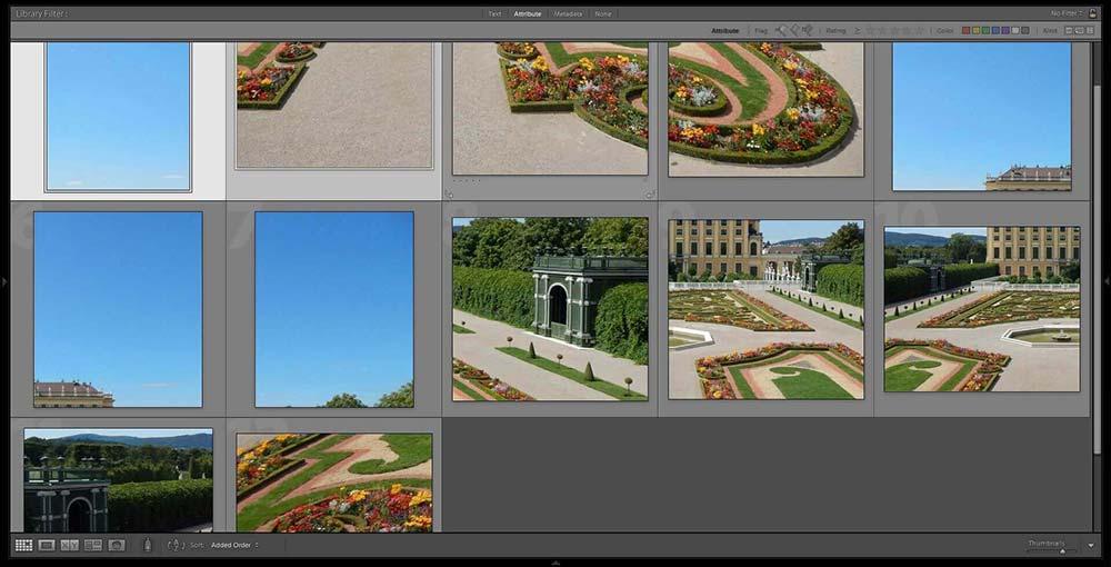 panorama fragmented files