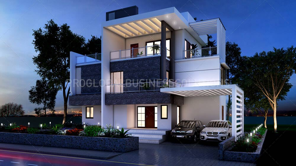 3d exterior visualization services