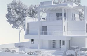 architectural 3D modeling featured
