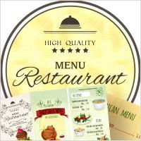 menu design services
