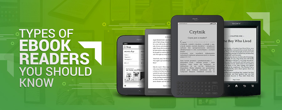 Different types of ebook readers