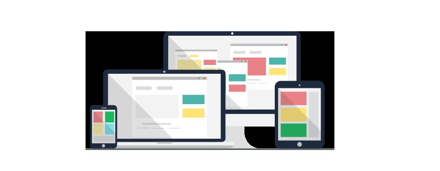 Wireframe web design