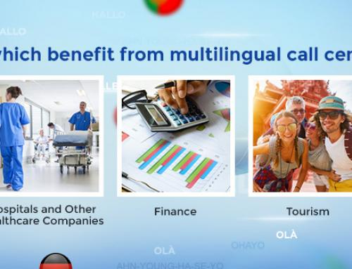 Industries which benefit from multilingual call center support