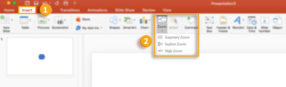 zoom features in office 365