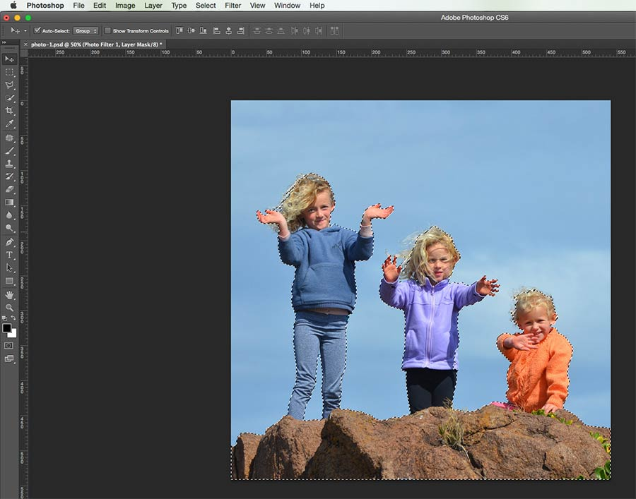 Selecting The Image Subject Using QS Tool