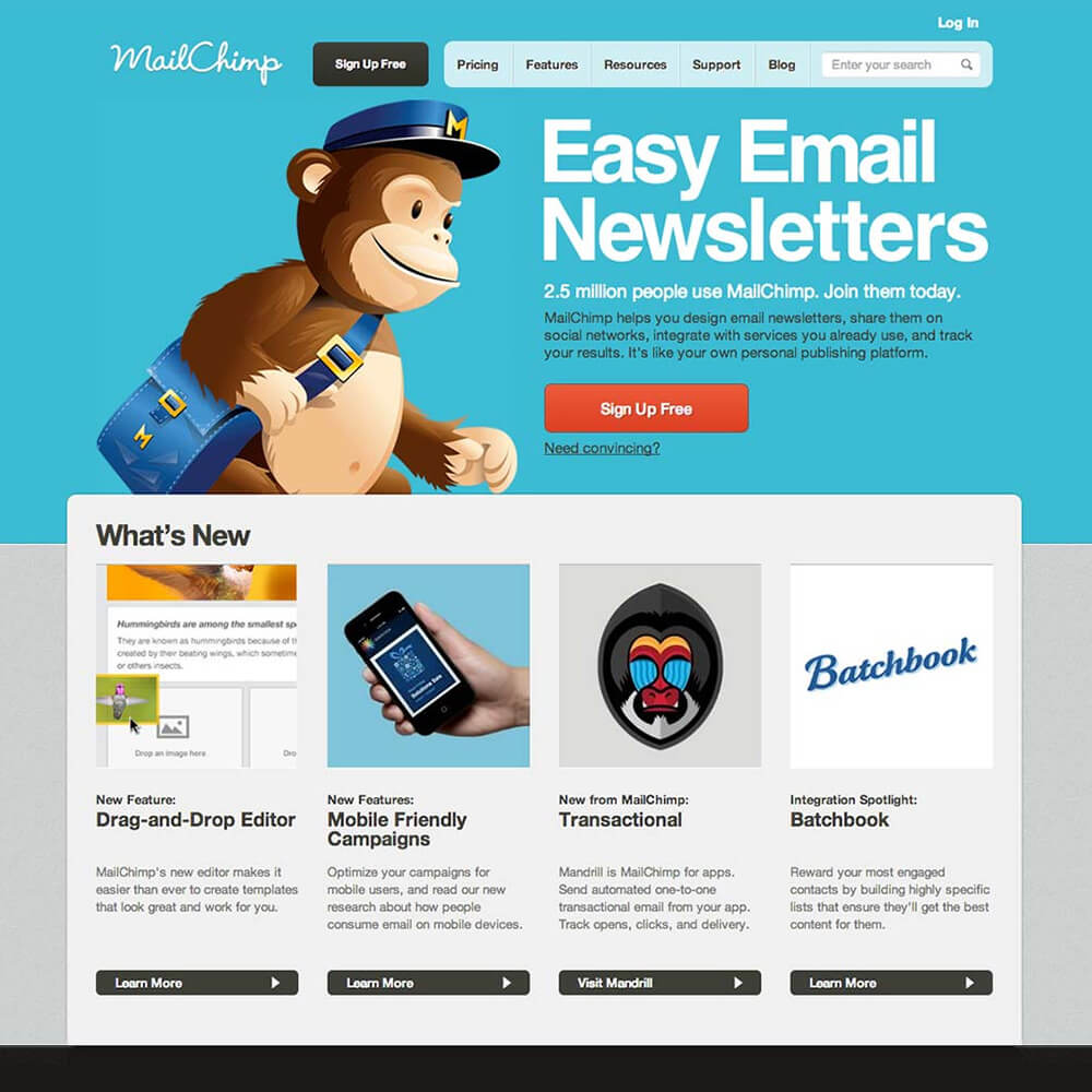 email newsletter software