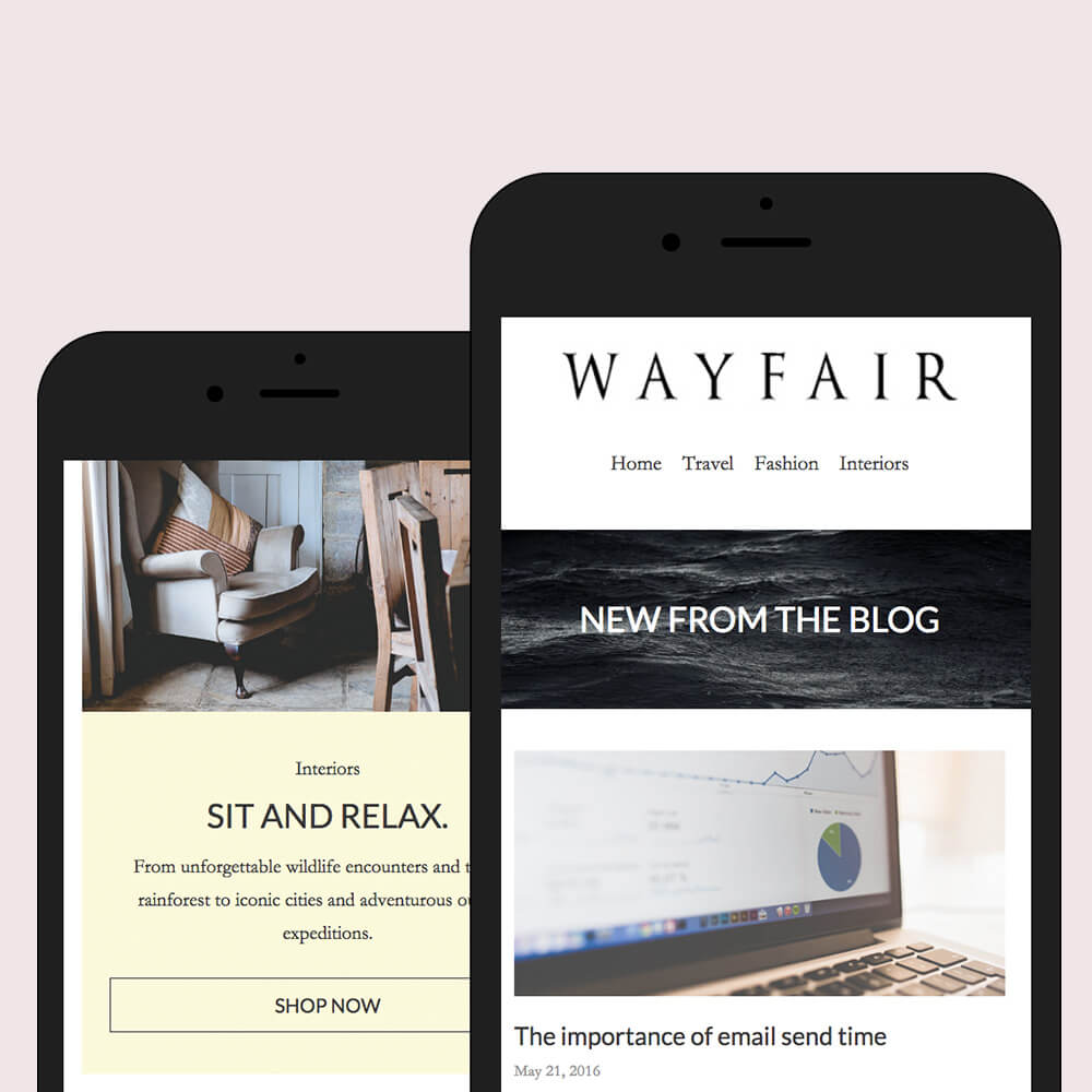 responsive email newsletter design